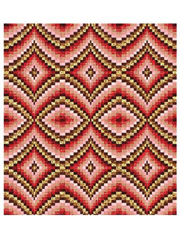 Diamonds Bargello Pattern