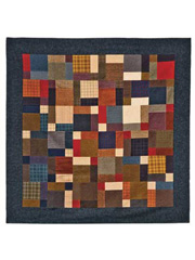 Twisted Nines Quilt Pattern