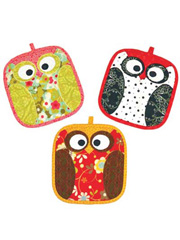 Night Owl Pot Holder Sewing Pattern