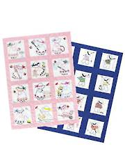 Girl or Boy Nursery Quilt Blocks