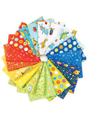 Gone Fishing Fat Quarters - 18/pkg.