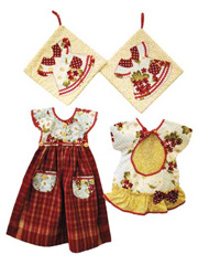 Dolly Kitchen Collection Sewing Pattern