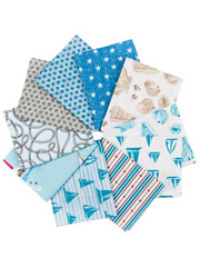 By the Sea Fat Quarters - 11/pkg.