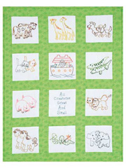 Noah's Ark Nursery Quilt Blocks