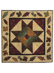 Autumn Star Wall Hanging Pattern