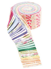 Watercolor Garden Jelly Roll - 40/pkg.