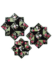 Stella Table Topper & Place Mat Quilt or Kit