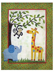 Jack's Jungle Quilt Pattern
