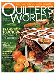 Quilter's World October 2008