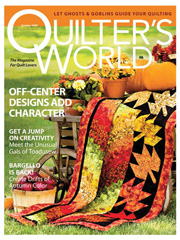 Quilter's World October 2009