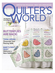 Quilter's World April 2010