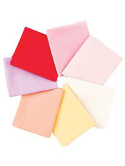 1930s Solids Fat Quarters - Warm - 7/pkg.