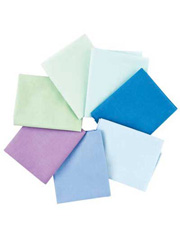 1930s Solids Fat Quarters - Cool - 7/pkg.