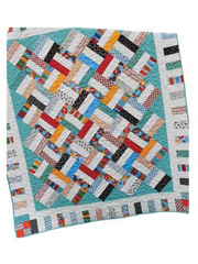 Pickup Sticks Quilt Pattern