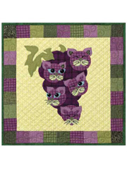 Concord Kitties Quilt Pattern