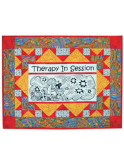 Therapy in Session Quilt Pattern w/ Panel or Panel