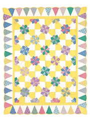 Daisy Patch Quilt Pattern