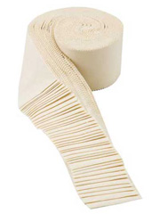 Bella Solids Natural Jelly Roll - 40/pkg.