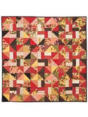 Cherry Turnover Quilt & Table Mat Pattern