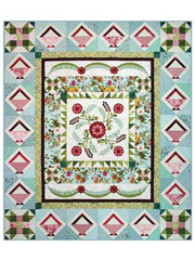 Medallion Baskets Quilt Pattern