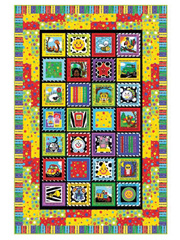 Baby Geniuses Speak Up! Playmat Quilt Kit