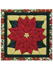 Poinsettia Quilt Magic Kit