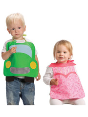 Girl & Boy Bib Set Sewing Pattern