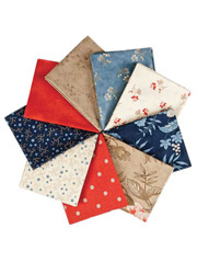 Independence Trail Fat Quarters - 9/pkg.