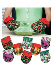 Handsies for Pan-sies! Pot Holder Sewing Pattern