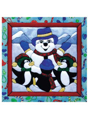 Dancing Penguins Quilt Magic Kit