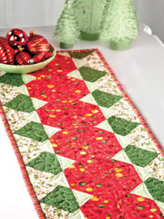 Fat Quarter Jackpot Table Runner Pattern