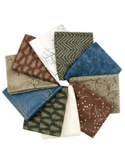 Shaded Oaks Flannel Fat Quarters