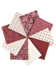 Cumberland Oxblood Fat Quarters - 9/pkg.