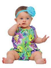 Girls Bubble Romper Sewing Pattern