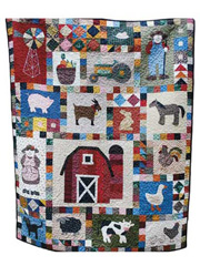 Farmer in the Dell Quilt Pattern