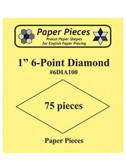 60� Diamond Paper Pieces