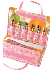 Crayon Art Folio Tote Sewing Pattern