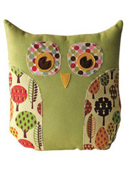 Lola Owl Pillow & Purse Sewing Pattern