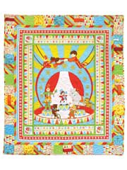 Let's Go to the Circus Quilt Kit