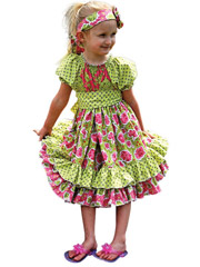 Elena's Twirly Peasant Dress Sewing Pattern