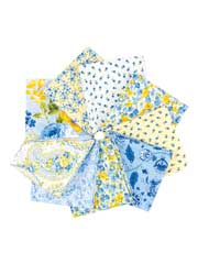 Summer Breeze Fat Quarters - 9/pkg.