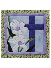 Cross & Lilies Quilt Magic Kit