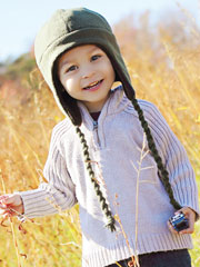 Fleece Earflap Hat Sewing Pattern