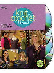 Knit and Crochet Now! Season 1 DVDs