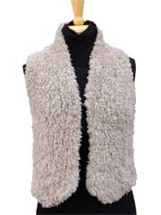Fur Gilet Knit Pattern