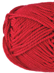 Ewe Ewe Yarns Wooly Worsted Red Poppy