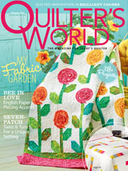 Quilter's World February 2013