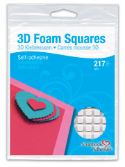 Scrapbook Adhesives 3D Foam Squares White