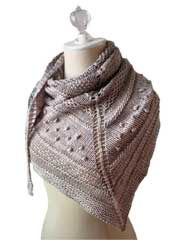 Texelle Shawl Knit Pattern