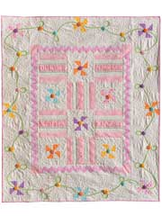 Periwinkles in Bloom Quilt Pattern